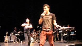 "Jordan Knight ""Inside"" in Edmonton 10-16-2012"