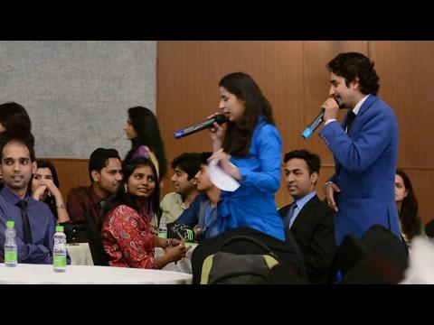 Lakshya Khanna Hosting Alumini Meet of GNIOT College