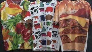 How to make all-over printed shirts with the Epson SureColor F6200 printer