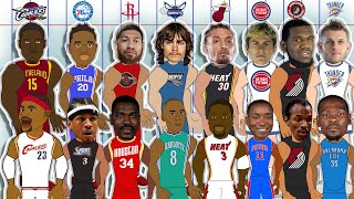 Every NBA Teams BEST and WORST Draft Pick! (NBA Comparison Animation)