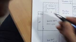 2 Bhk Flat Design II दो कमरा का फ्लैट का नक्शा