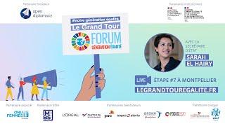 Replay – Etape du Grand Tour #NotreGénérationÉgalité à MBS avec Mme. Sarah El Haïry