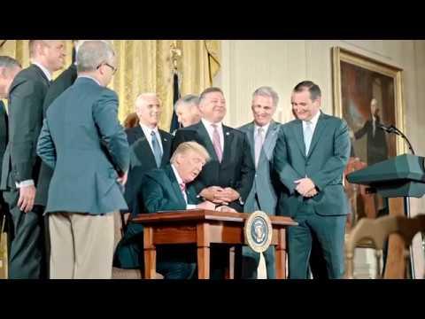 President Trump Announces the Air Traffic Control Reform Initiative