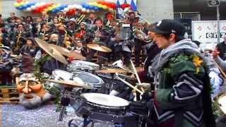 preview picture of video 'Fasnacht Löchlitramper Littau'