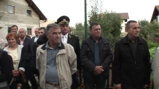 preview picture of video 'Odkritje spominske plošče - Ladja 30, 1215 Medvode.'