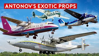 Flying on World's Only Antonov An-38 and An-140 – Rare Props of Antonov
