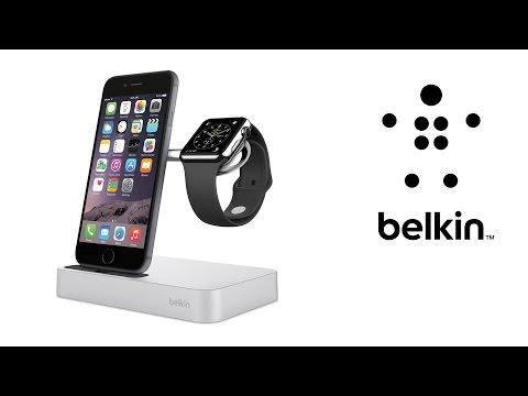 Belkin Ladestation Valet™ für die Apple Watch und das iPhone