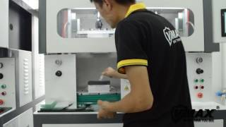 3D curved full cover tempered glass production flow -Hot Bending !!