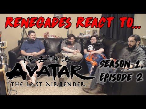 Renegades React to... Avatar: The Last Airbender - Season 1, Episode 2