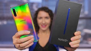 Galaxy Note 10 Plus Unboxing