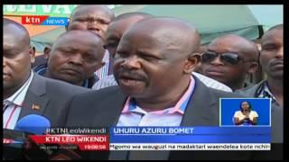Rais Uhuru Kenyatta amuamuru Gavana Ruto akome kuwa kizuizi wa maendeleo katika Kaunti ya Bomet