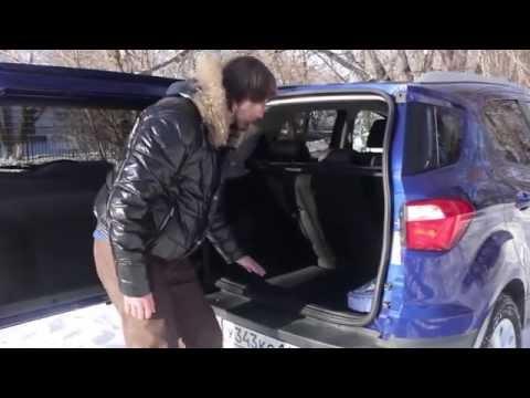 Ford  Ecosport Паркетник класса J - тест-драйв 3
