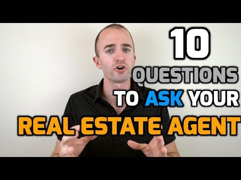 10 Questions to Ask Your Real Estate Agent When Buying a House   Hiring a Realtor Interview