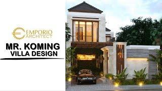 Video Desain Villa Style Villa Bali 2 Lantai Bapak Koming di  Mengwi, Badung, Bali