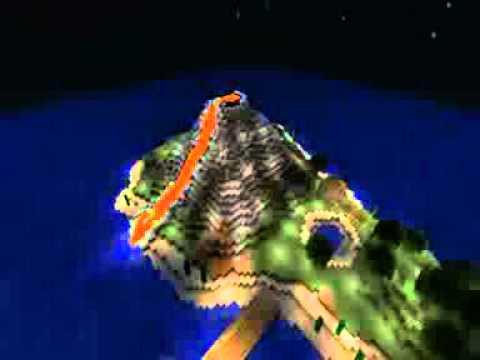 comment construire un volcan
