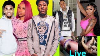 JANIA THROWING SHADE👀AT WHICH EX?🤔MONEYBAGG YO'S PARTY GETS SHOT UP😳😱