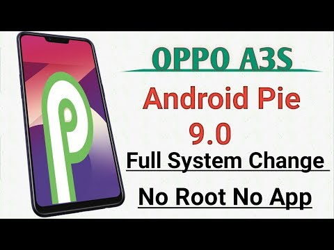 OPPO A37 Android Pie 9 0 Any OPPO Full Setup Change Without