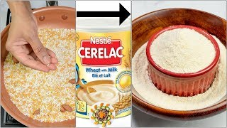 Homemade Cerelac for 6 - 12 Month Babies | Super Healthy Baby Food for 6 Month old