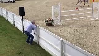 Как тренер переживает на соревнованиях по конкуру