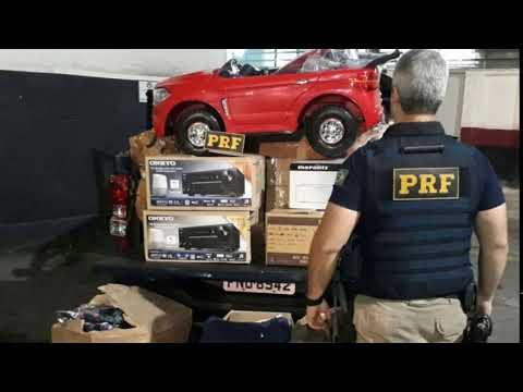 PRF aprende mercadoria irregular em São Paulo