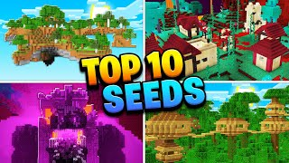 Top 10 Best New Seeds For Minecraft Nether Update 1 16 Mobile Ps4 Xbox Pc Switch Minecraftvideos Tv