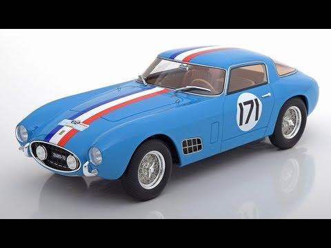 CMR - 1/18 - FERRARI 250 GT BERLINETTA COMPETIZIONE TOUR DE FRANCE 1957 - CMR108