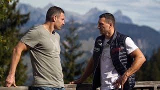 Віталій Кличко відвідав брата в тренувальному таборі в Австрії