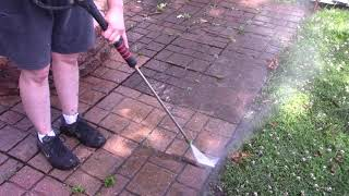 Pressure washing your house