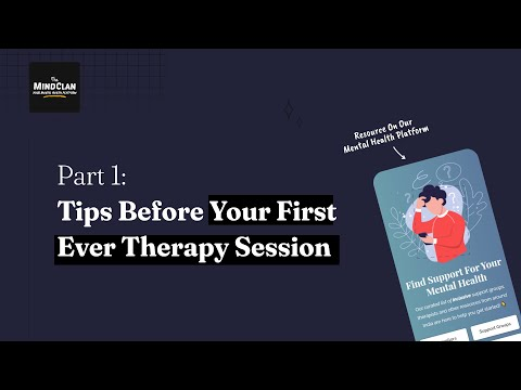 Reminders Before Your First (Ever) Therapy Session | Part 1