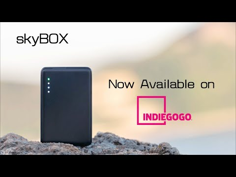 skyBOX – Credit Card Size Wireless SSD Storage-GadgetAny