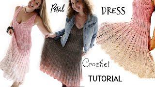 Petal Dress Crochet Tutorial