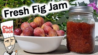 How To Make Fig Jam - Homemade Jam Recipe