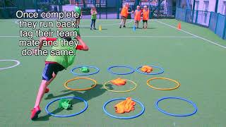 Naughts and Crosses Relay