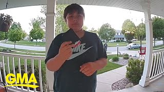 11-year-old boy found a wallet and returned it to the rightful owner l GMA Digital