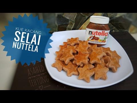 Video Cara Membuat Kue Kacang Selai nutella