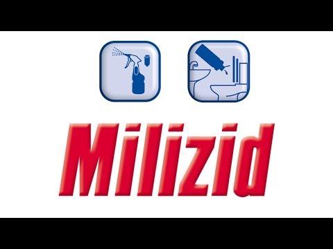 MILIZID Produkt-Schulungsfilm Oberflächenreinigung / Handsprüher