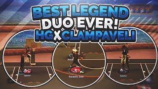*NEVER BEFORE SEEN* THE LEGENDARY DUO • BEST LEGEND DUO IN THE GAME?? • HG x CLAMPAVELLI
