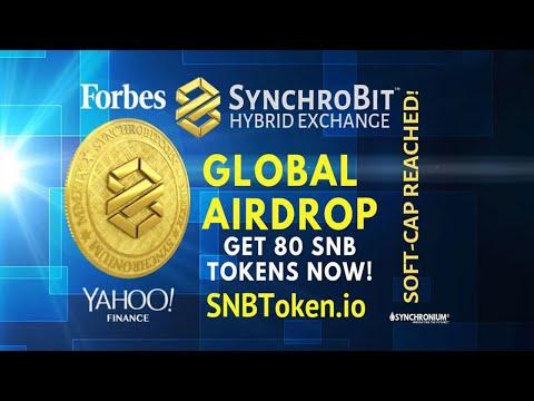 Ganhe U$28 Dólares Grátis no Airdrop da Plataforma Synchrobit !!!