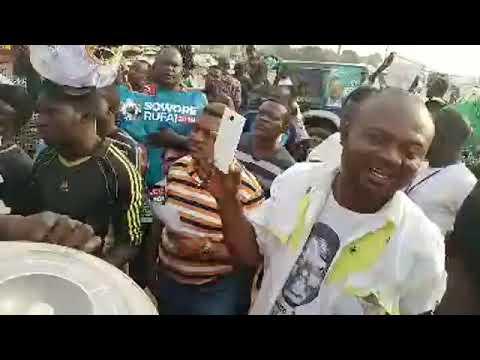 Download Sowore Campaign Hits  ZUBA Abuja.#SoworeRufai2019 HD Mp4 3GP Video and MP3