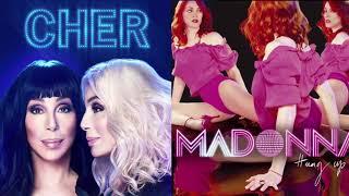 Cher V Madonna MASHUP   Gimme Gimme Gimme  Hung Up