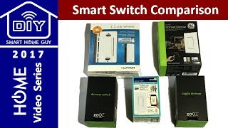 UPDATED Zooz, GE, Lutron, and Leviton Smart Wall Switch Review