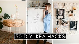 30 DIY IKEA HACKS - Interior & Deko Im Boho & Hygge Stil: Alle Schnell Und Einfach BEST OF #ikeahack