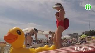 Жизнь с уточкой, или как защитить себя на пляже. «Тайный агент». За кадром