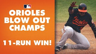 Orioles Put Up 11 RUNS On Nationals AND Shut Them Out!