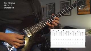 Times of Grace - Live in Love Guitar Tutorial w/ On Screen Tabs