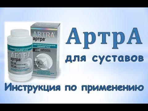 Артра (таблетки): Инструкция по применению