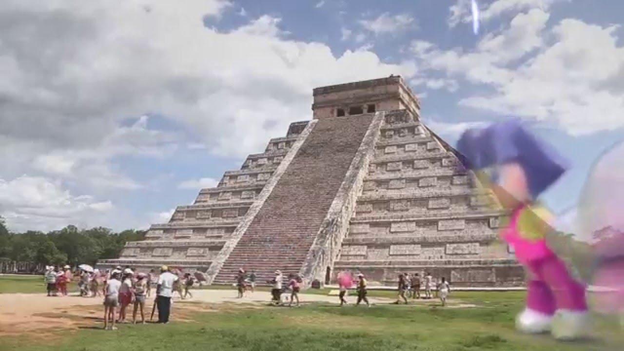 Dora la exploradora nos enseña Chichen Itza, México
