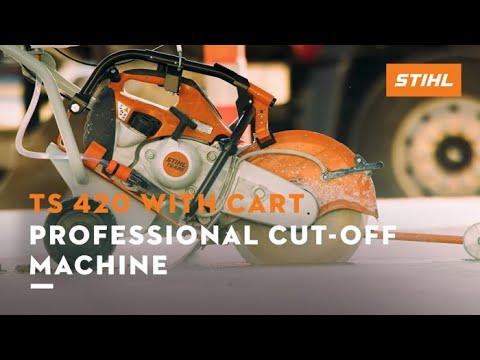 Stihl TS 420 Cutquik in Elma, New York - Video 3