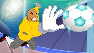 Supa Strikas Full Episode Compilation   Depth Charge   Soccer Cartoons For Kids
