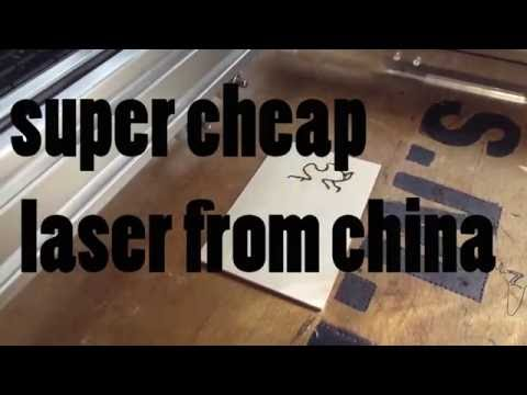 Super cheap laser cutter from china